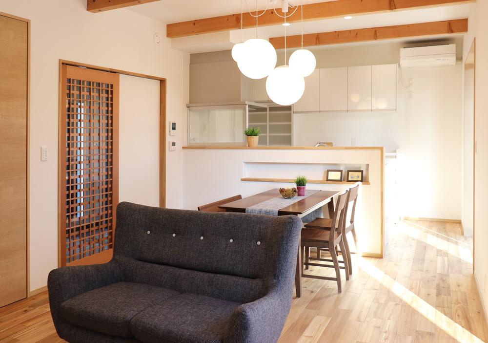 無垢材の魅力をふんだんに。栃木県宇都宮市の注文住宅施工事例
