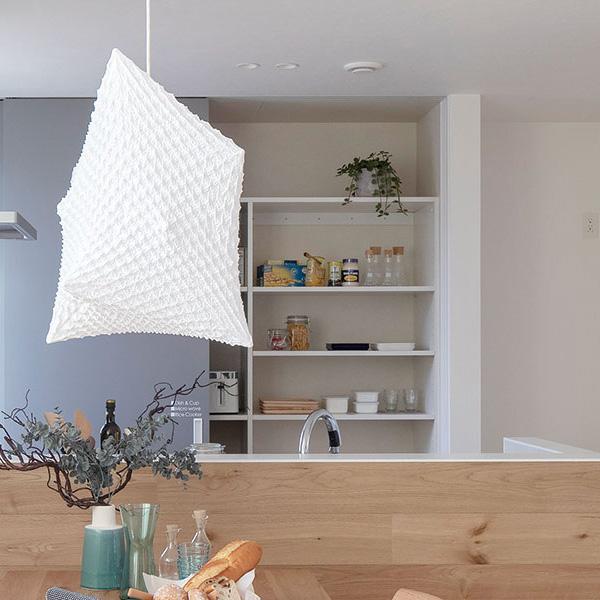 TRETTIOの標準仕様/システムキッチンI型・オリジナルクラフトの食器棚