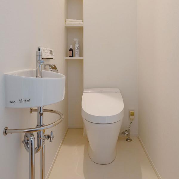 TRETTIOの標準仕様/温水洗浄便座